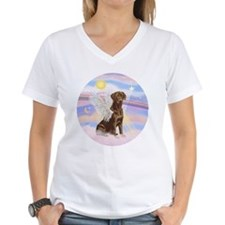 Chocolate Lab Angel Shirt