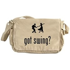 Swing Dancing Messenger Bag