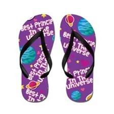 Best Principal in the Universe Flip Flops