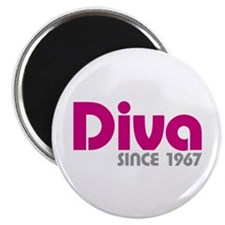 "Diva Since 1967 2.25"" Magnet (100 pack)"