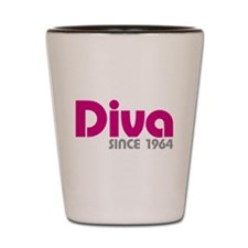Diva Since 1964 Shot Glass