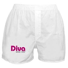 Diva Since 1957 Boxer Shorts