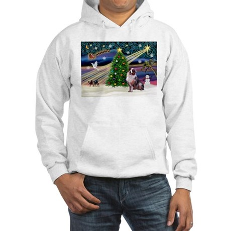 XmasMagic/Aussie (#1) Hooded Sweatshirt