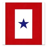 "Cute Soldier Square Car Magnet 3"" x 3"""