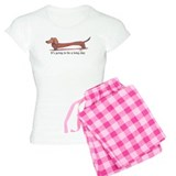 Long Day Dachshund T-Shirt Pajamas