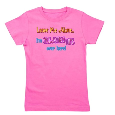 creating life.png Girl's Tee