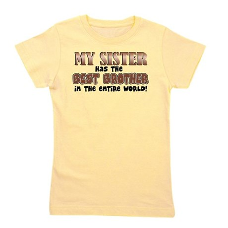 sisterbestbrother.png Girl's Tee