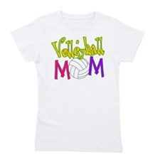Volleyball Mom 4 Girl's Tee