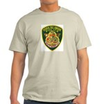 Dover Police Ash Grey T-Shirt