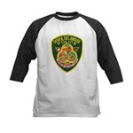 Dover Police Kids Baseball Jersey