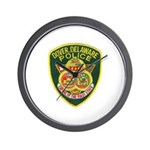 Dover Police Wall Clock