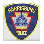 Harrisburg Police Tile Coaster