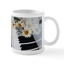 Piano and Daisies Mug