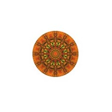 Harmony in Orange Mini Button (10 pack)
