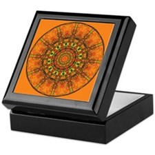Harmony in Orange Keepsake Box