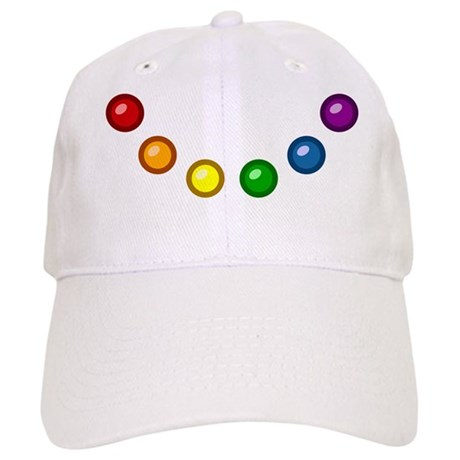 Rainbow Baubles Cap