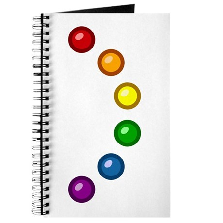 Rainbow Baubles Journal
