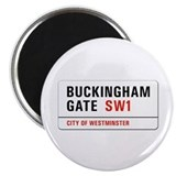 United kingdom 2.25&quot; Round Magnet