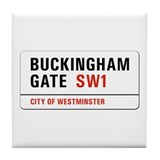 Buckingham Gate, London - UK Tile Coaster