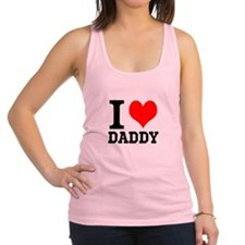 "Your Own Text ""I Heart"" Racerback Tank Top"