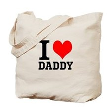 """Your Own Text """"I Heart"""" Tote Bag"""