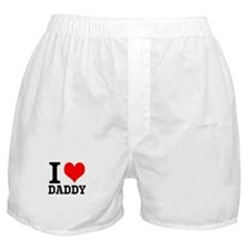 "Your Own Text ""I Heart"" Boxer Shorts"