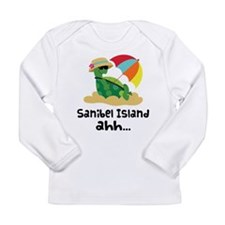 Sanibel Island Florida Long Sleeve Infant T-Shirt