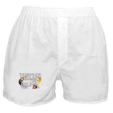 Best Dad Galaxy Boxer Shorts