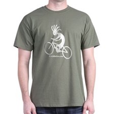 Kokopelli Mountain Biker T-Shirt