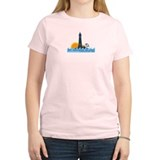 St. George Island - Lighthouse Design. T-Shirt