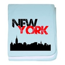 New York baby blanket
