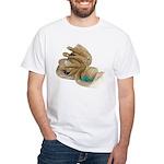 Hats Off! White T-Shirt
