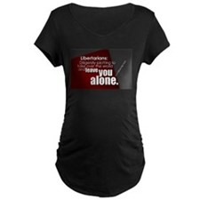 Diligently plotting Maternity T-Shirt