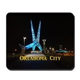 Oklahoma City Mousepad
