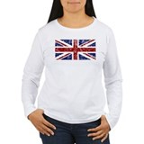&quot;Red Navy Union Jack&quot; T-Shirt