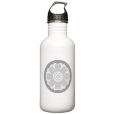 White Lotus Tile Water Bottle