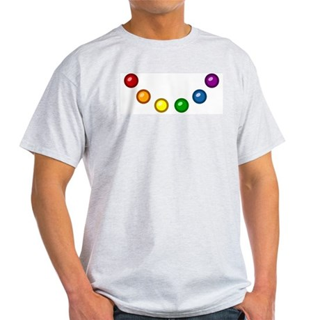 Rainbow Baubles Light T-Shirt