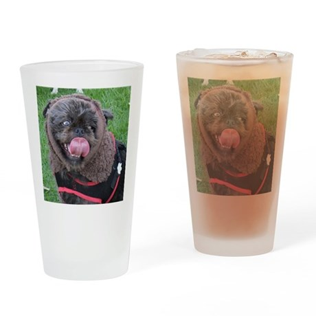 It's a real live Ewok! Drinking Glass