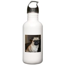 Stink eye pug Water Bottle