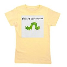 future bookworm.bmp Girl's Tee