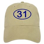 Number 31 Oval Cap