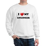 I LOVE MY ENGINEER, ENGINEER  Sweatshirt