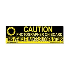 Unique Photograph Car Magnet 10 x 3