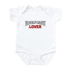 """""""The World's Greatest Lover"""" Infant Bodysuit"""