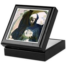Crying Angel Keepsake Box