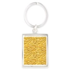 Free Fries Portrait Keychain