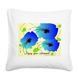 Retirement Square Canvas Pillow
