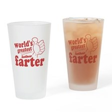 Worlds Greatest Farter Drinking Glass