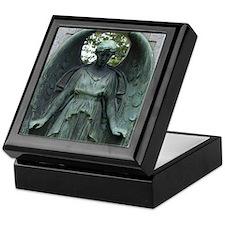 Crying Angel Keepsake Box
