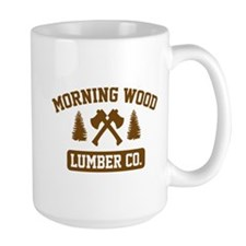 Morning Wood Lumber Co. Mug